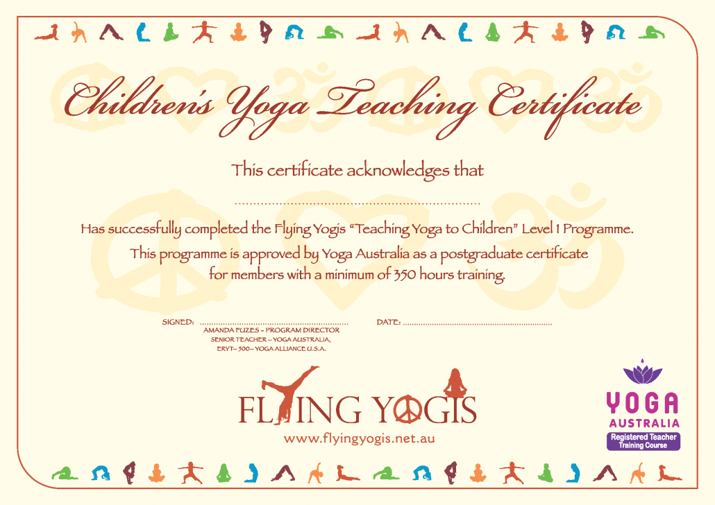 Flying yogis teaching yoga to children level 1 2015 programme share this entry yadclub Image collections