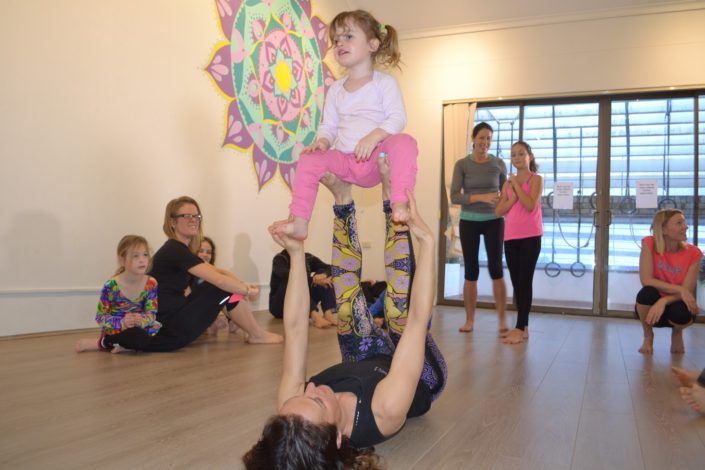 Family Yoga Classes - Flying Yogis